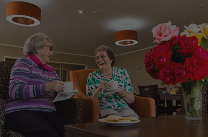 Happy Residents Of Alandale Retirement Village