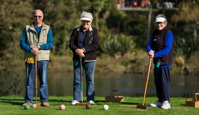 Active Retirement community nestled away on the banks of the Waikato river.