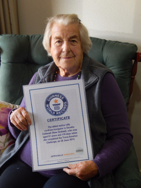 World Record Holder at Alandale Retirement Complex